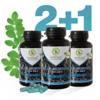 60 Cápsulas BLUE MORINGA FOR MEN 2 + 1 gratis