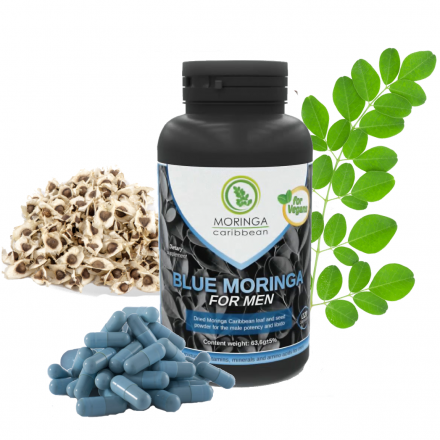 Blue Moringa for Men