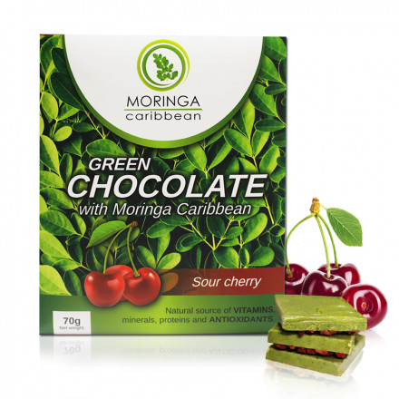 Chocolate com cerejas 70g